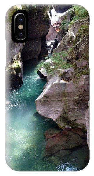 Avalanche Creek Glacier National Park IPhone Case