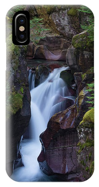 IPhone Case featuring the photograph Avalanche Gorge 3 by Gary Lengyel