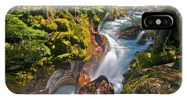 IPhone Case featuring the photograph Avalanche Gorge by Gary Lengyel