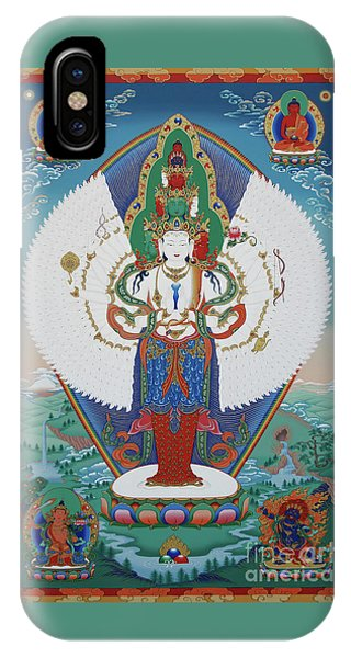 Avalokiteshvara Lord Of Compassion IPhone Case