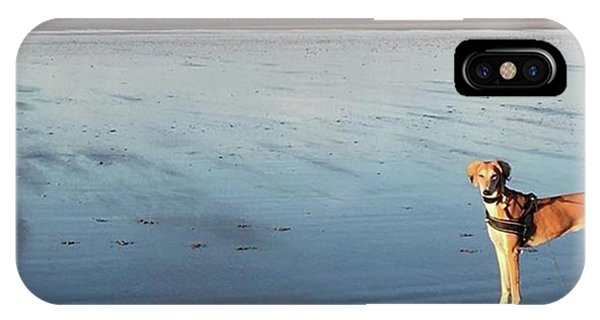 iPhone Case - Ava's Last Walk On Brancaster Beach by John Edwards