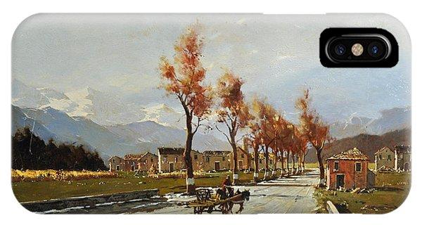 Avellino's Landscape  IPhone Case