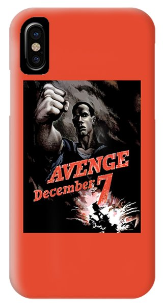 Avenge December 7th IPhone Case