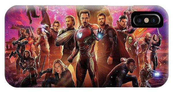 Avengers Infinity War IPhone Case