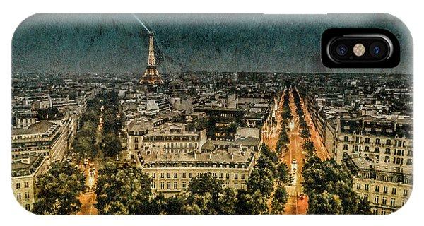 Paris, France - Avenue Kleber IPhone Case