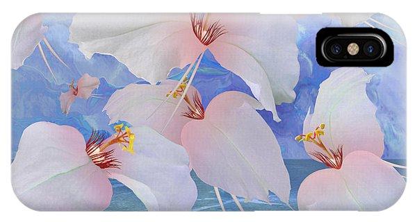 Avian iPhone Case - Avian Flowers by M Spadecaller