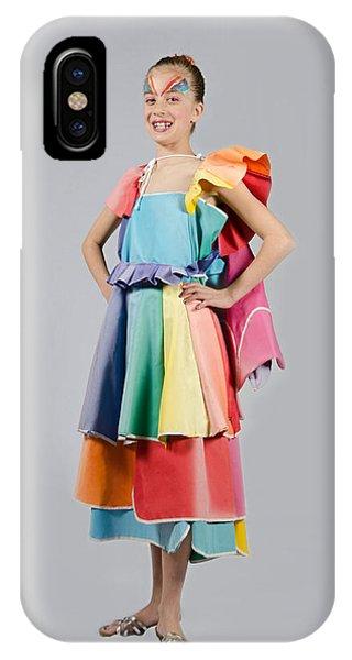 Aviva In Patio Umbrella Dress IPhone Case