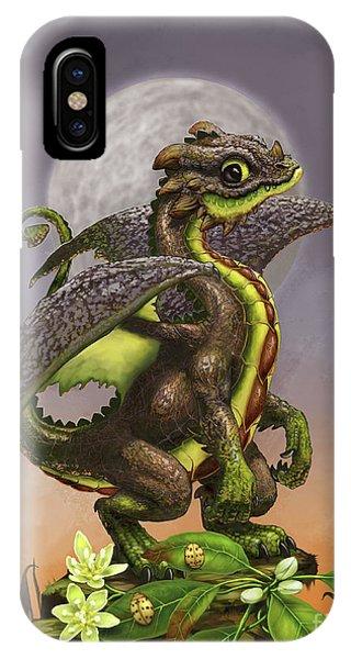 Avocado Dragon IPhone Case