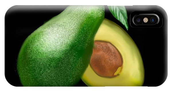Avocado IPhone Case