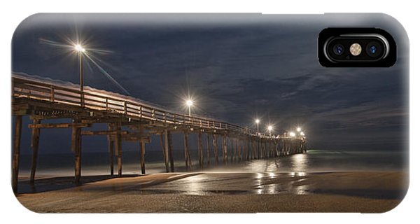 Avon Pier At Night IPhone Case