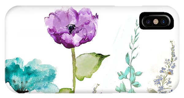 Flower iPhone Case - Avril  by Mindy Sommers