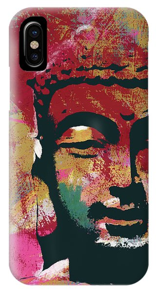 Spirituality iPhone Case - Awakened Buddha 4- Art By Linda Woods by Linda Woods