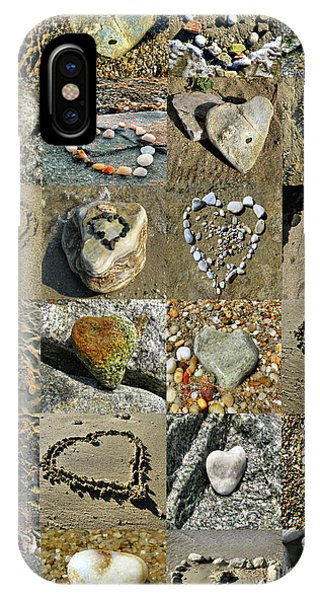 Awesome Hearts Found In Nature - Valentine S Day IPhone Case