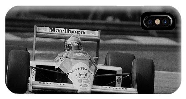 Ayrton Senna. 1988 Italian Grand Prix IPhone Case