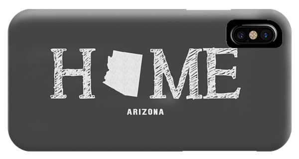 IPhone Case featuring the mixed media Az Home by Nancy Ingersoll