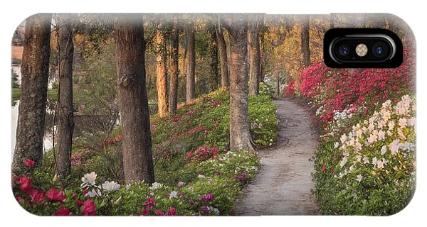 Azalea Hill Path IPhone Case