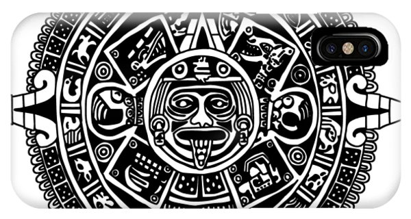 Aztecs Calendar IPhone Case