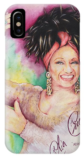 Azucar Celia Cruz IPhone Case