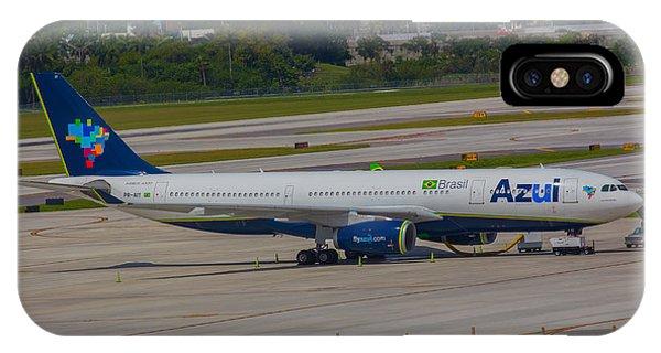 Azul Barzillian Airline IPhone Case