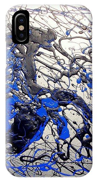 Azul Diablo IPhone Case