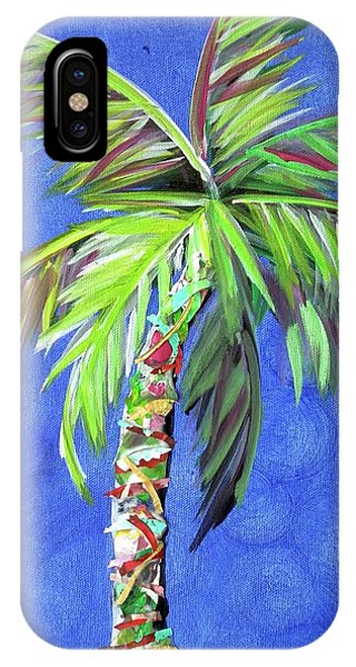 Azul Palm IPhone Case