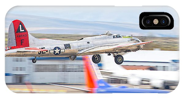 IPhone Case featuring the photograph B-17 Bomber by Dart and Suze Humeston