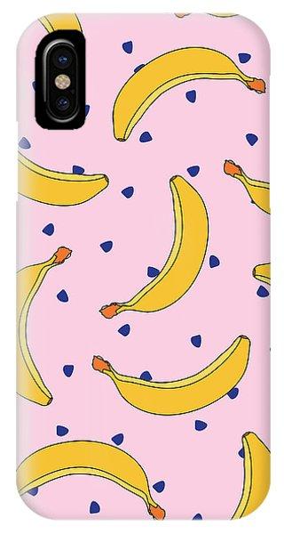 B-a-n-a-n-a-s IPhone Case