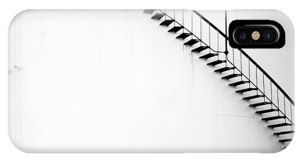 B And W Stairs IPhone Case