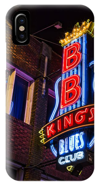 B B Kings On Beale Street IPhone Case