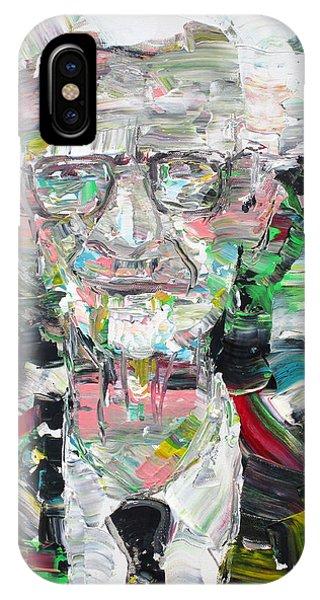 B. F. Skinner Portrait IPhone Case