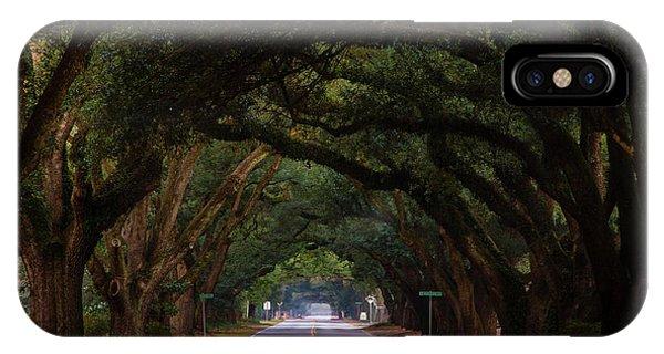 Boundary Ave Aiken Sc 6 IPhone Case