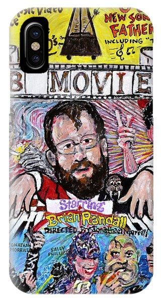 Mtv iPhone Case - B Movie by Jonathan Morrill