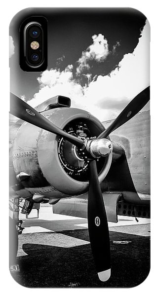 B25 Radial Engine IPhone Case