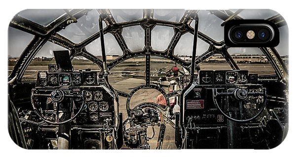 B29 Superfortress Fifi Cockpit View IPhone Case