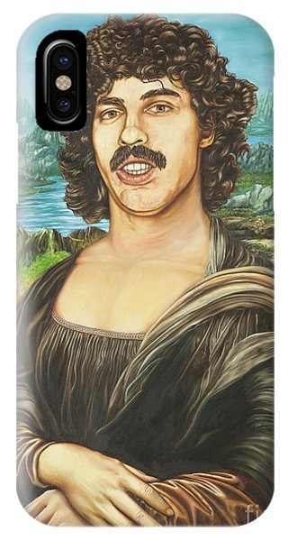 Howard Stern iPhone Case - Baba Booey Or Da Vincis 20th Century Muse by Tim Petrinec