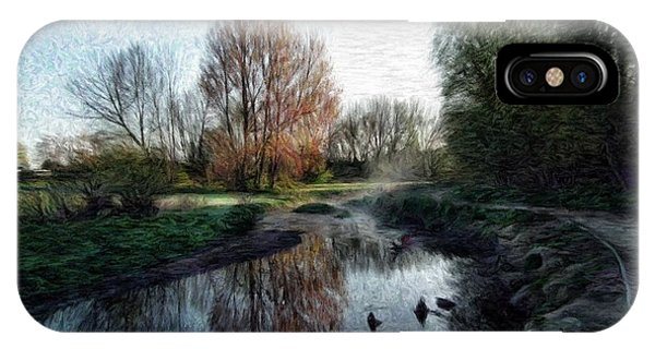 Treeline iPhone Case - Babbs Mill by Roger Booton