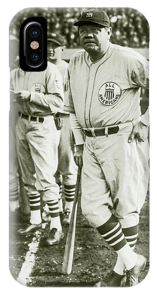 Babe Ruth iPhone Case - Babe Ruth All Stars by Jon Neidert