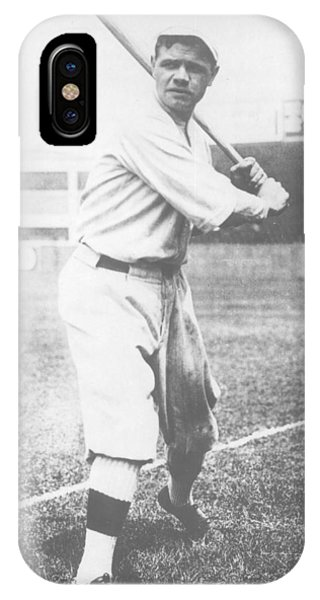Babe Ruth iPhone Case - Babe Ruth by American School