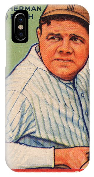 Babe Ruth IPhone Case