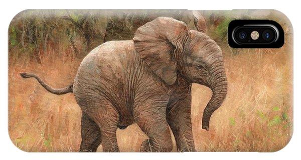 Baby African Elelphant IPhone Case