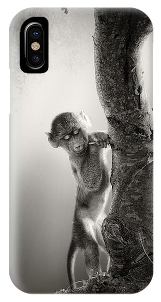 Baby Baboon IPhone Case