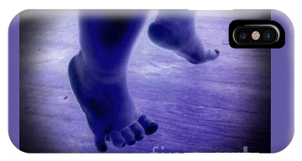 Baby Blu Dancing Royal Feet IPhone Case