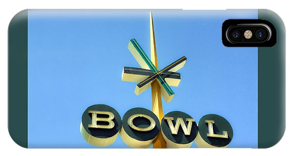 Baby Blue Bowl IPhone Case