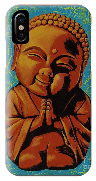 Baby Buddha IPhone Case
