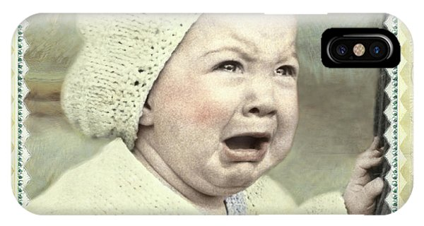 Baby Cries IPhone Case