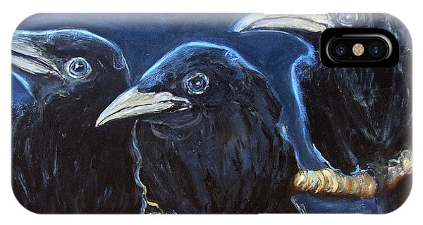 Baby Crows IPhone Case