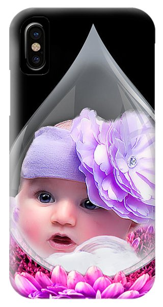 Baby Dewdrop IPhone Case