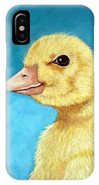 Baby Duck - Spring Duckling IPhone Case