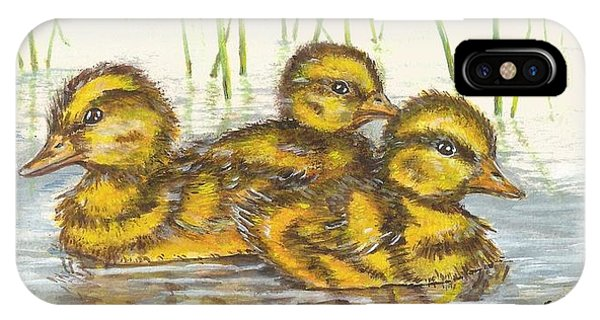 Baby Ducks For Ma IPhone Case