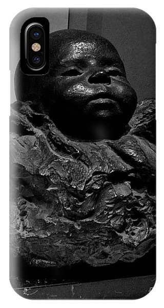 Baby Face Stone Art IPhone Case